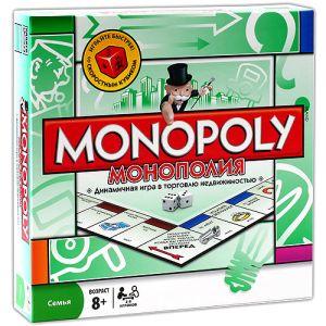 Настольная игра Монополия/Monopoly (металл фигурки)
