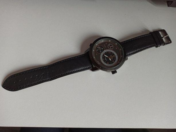 Zegarek Gino Rossi duża tarcza skóra naturalna