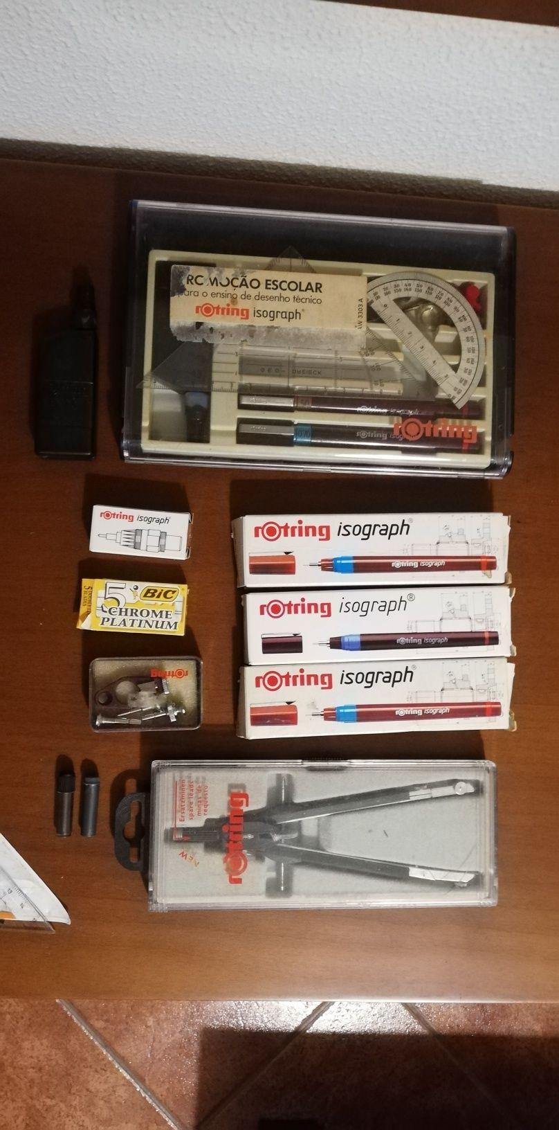 canetas Rotring Isograph