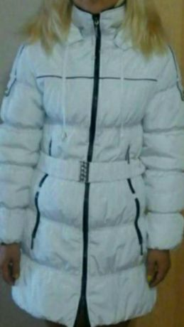 Куртка зимняя белая