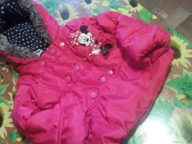 Курточка для девочки 12 - 18 мес