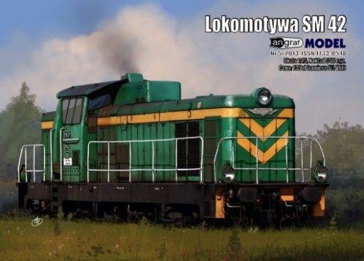 Angraf nr 11/2015 - Lokomotywa SM 42 - 1:25