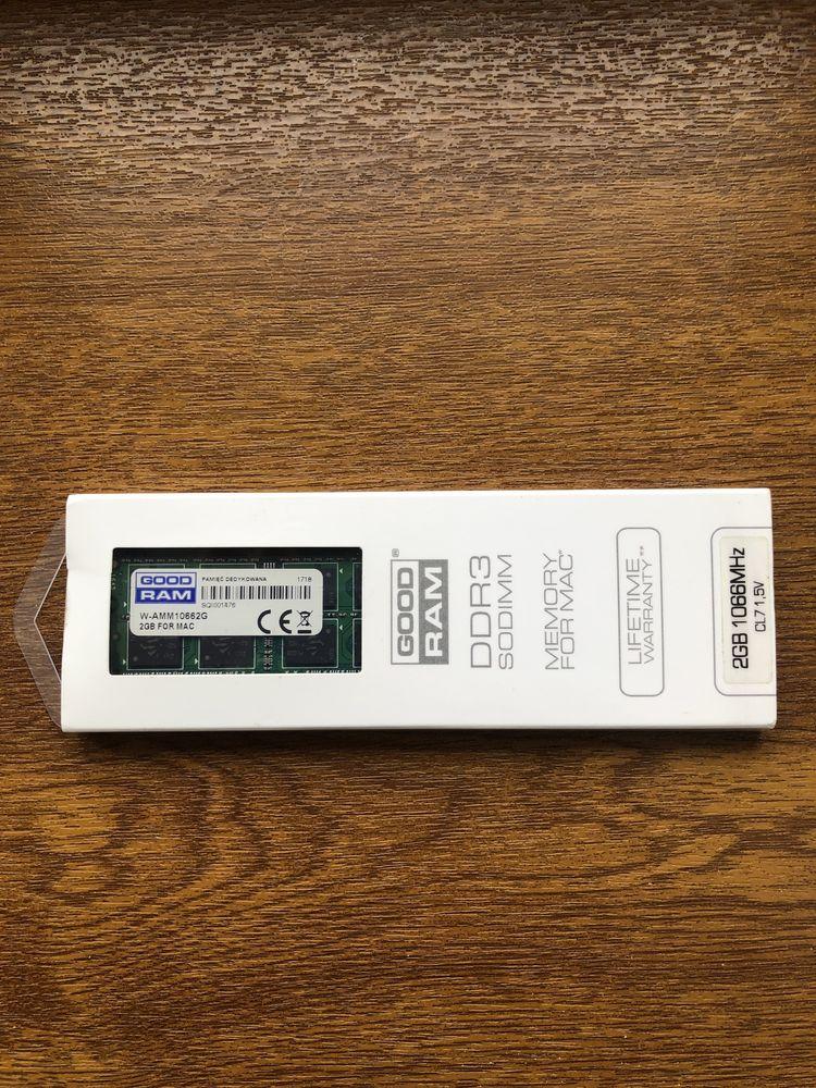 DDR3 2 GB для макбука новая