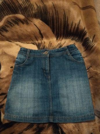 Продам джинсовую юбчонку