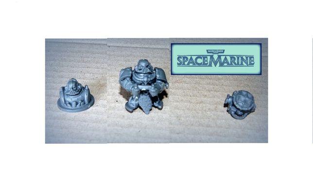 Warhammer 40K SPACE Marine - części, figurki do pojazdów opancerzonych