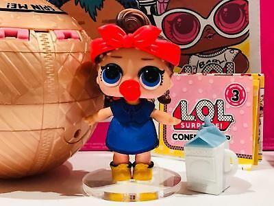LOL Surprise CONFETTI POP золотой шар с куклой Техно меняет цвет.