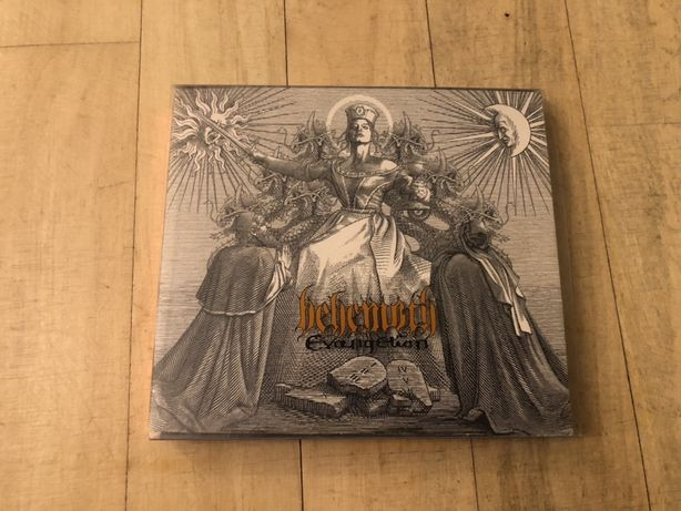 Behemoth - Evangelion, digi, CD+DVD