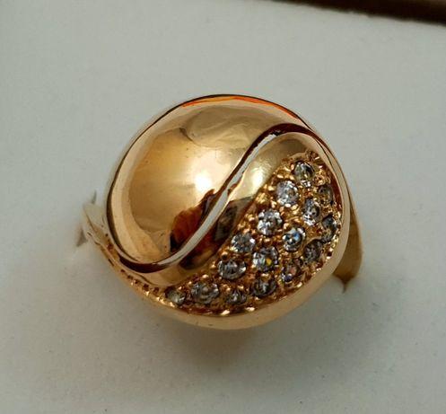 Śliczny złoty pierścionek 6,88g p585r15 /STERNA złoto