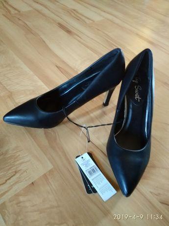 czarne NOWE szpilki rozmiar 36 / buty