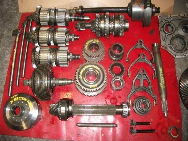 Same,DF Agrotron M600--skrzynia,obudowa,kosz,wałek,synchronizator,tryb