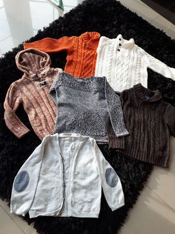 Swetry dla chłopca rozm 110-116 Zara