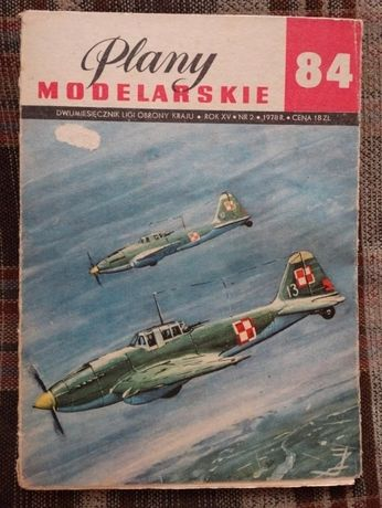 Plany modelarskie - samolot szturmowy Ił-2