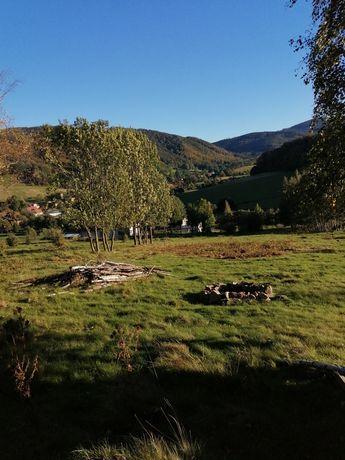 Działka budowlana w górach