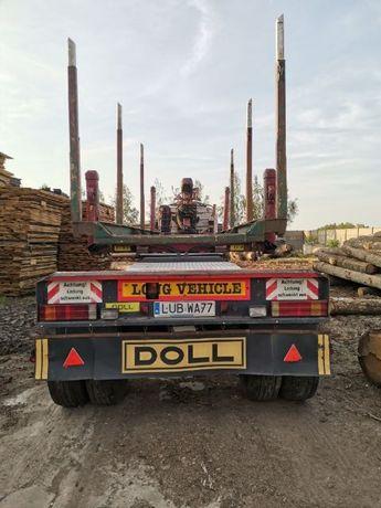 Przyczepa do drewna, dłużyca, nakładka, wózek DOLL