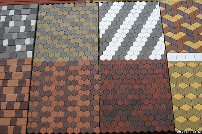 Тротуарная плитка от производителя, укладка