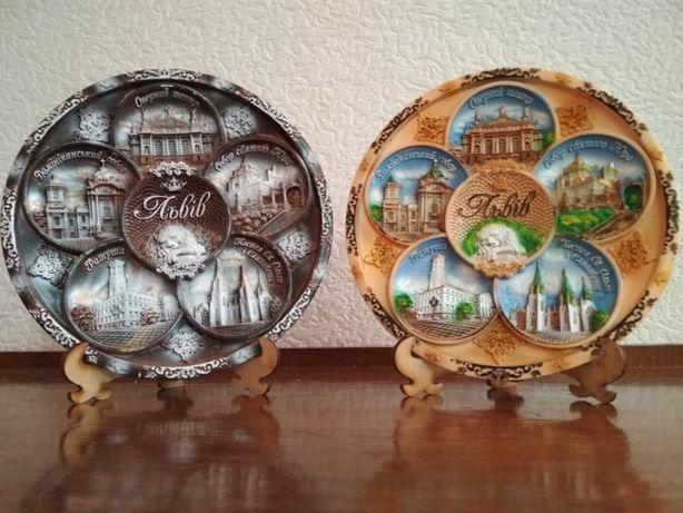 Декоративная тарелка ЛЬВІВ