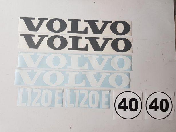 Volvo l120e naklejki