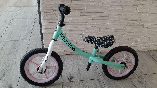 Rower, rowerek biegowy, miętowy