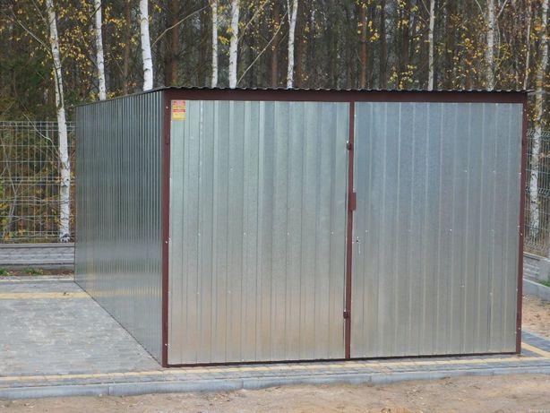 Garaż blaszany 3x5. garaże blaszane blaszaki metalowe