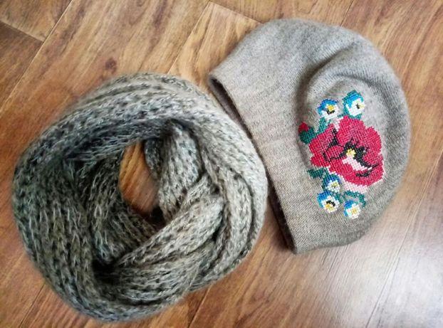 Женская шапка и хомут