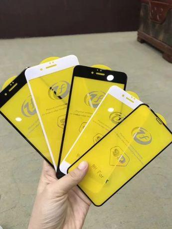 Стекло 9D Iphone 4 4s 5 5s 5c 6 6s 7 8 plus X Xs Max Xr 11 Pro 12 Mini