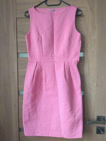 Różowa koktajlowa sukienka, ORSAY, 34