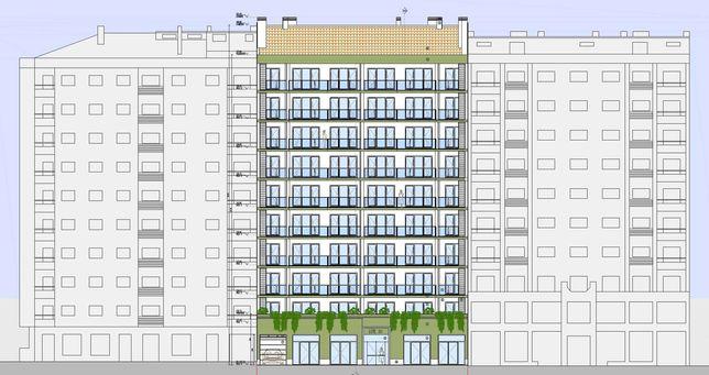 Terreno para construção (Projecto aprovado) em Queluz - 10 Pisos