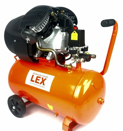 Компрессор LEX LXC50V   3,3кВТ   430 л/мин   ресивер 50л