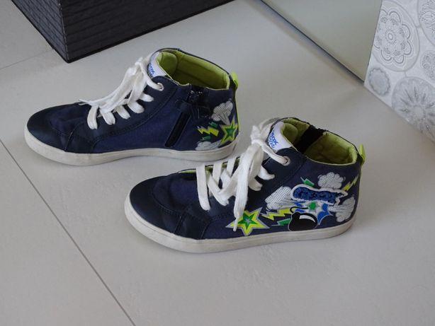 Trampki Geox Alonisso r. 34 sneakersy zadbane