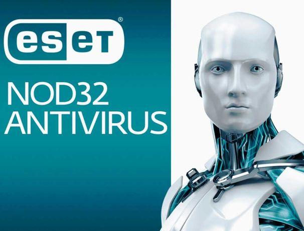 Ключ ESET NOD32 Antivirus 1год+ , лучшая антивирусная защита
