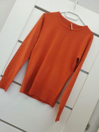 Sweterek damski pomarańczowy
