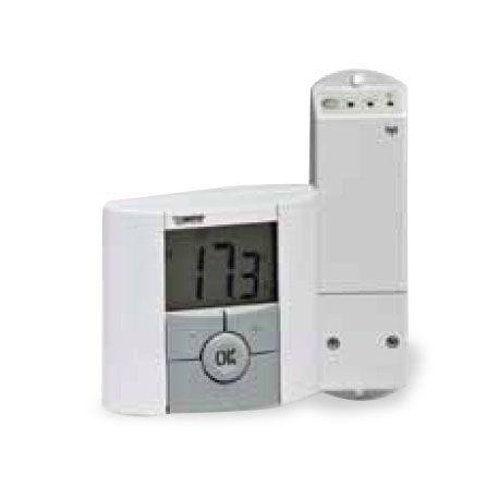 Termostato de ambiente BTKDP RF Watts para caldeira