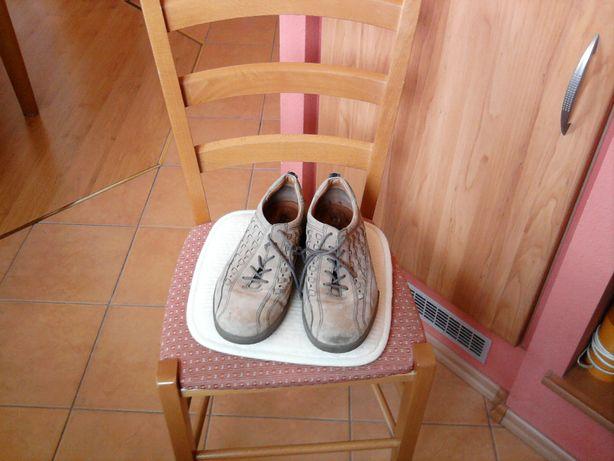 Porządne skórzane męskie buty ECCO Dual Shock - 45/29,3 cm !!