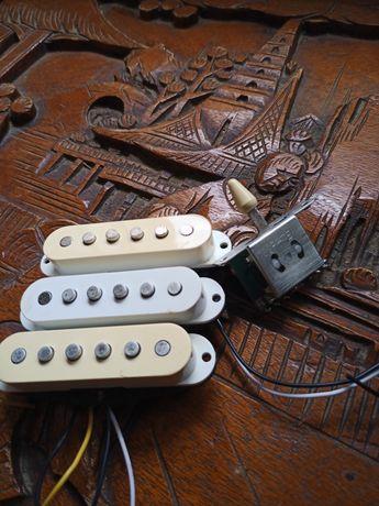 Pickups Fender/Squier mim / Pickguard Stratocaster HSH
