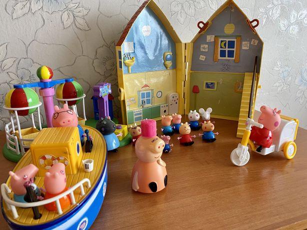 Набор игрушек свинок пеп