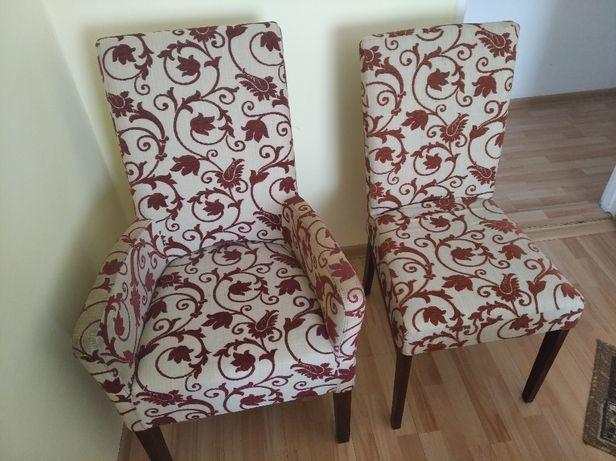 Sprzedam dwa krzesła + fotel