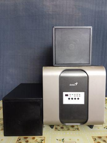 Акустическая система GENIUS SW-HF5.1 3000+2 колонки 6ас
