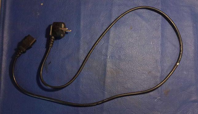 Сетевой шнур,кабель питания для ПК,монитора,блока питания 120 см