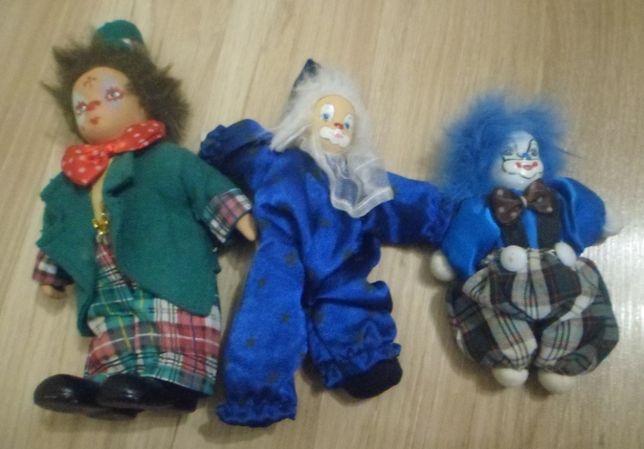 Іграшки клоуни.3шт.
