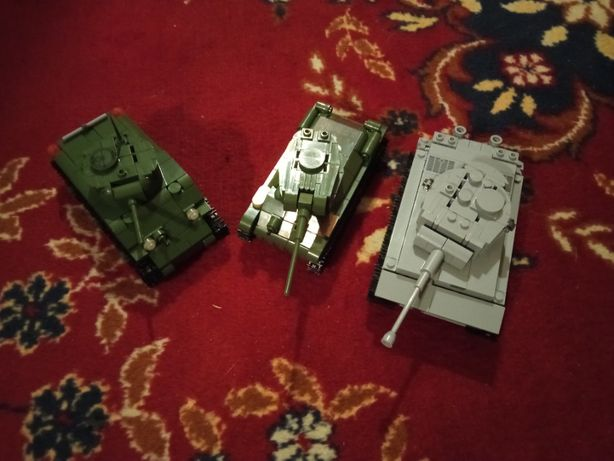 Cobi Tiger T-34-85 M4 sherman 1:48