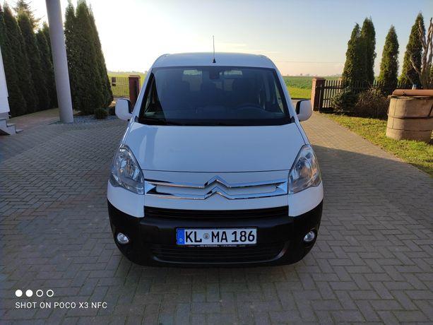Citroën Berlingo 1.6 HDi 2012 , 140 tys ! 3 osobowy , serwisowany