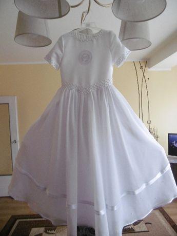 Sukienka komunijna + DODATKI, rozmiar 134