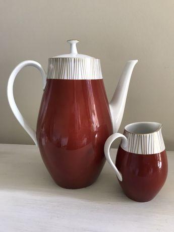 Dzbanek i mlecznik porcelana Lichte Pikasiak