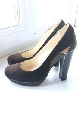 Туфли кожаные туфлі 35 размер 35 розмір