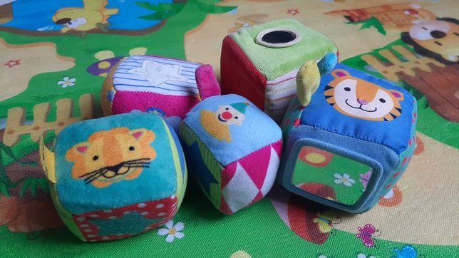 Zabawki dla maluszka kostki pozytywka