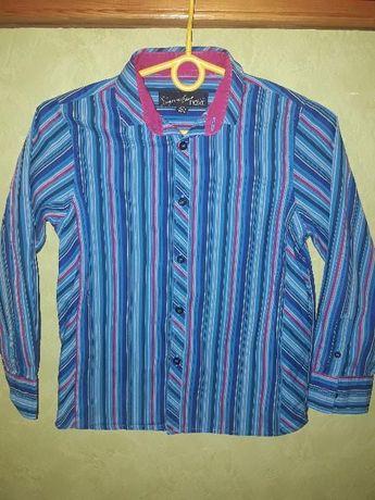 рубашки для мальчика 4 варианта