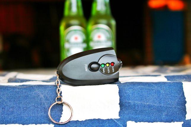(PROMOÇÃO) Medidor Álcool / Alcolimetro com Porta-chaves (NOVO)