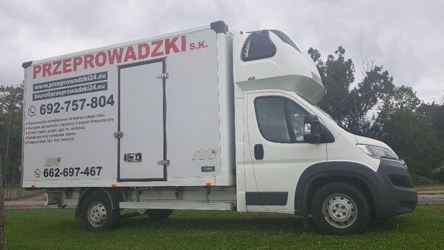 Przeprowadzki kompleksowe Andrychów , Wadowice 24/7