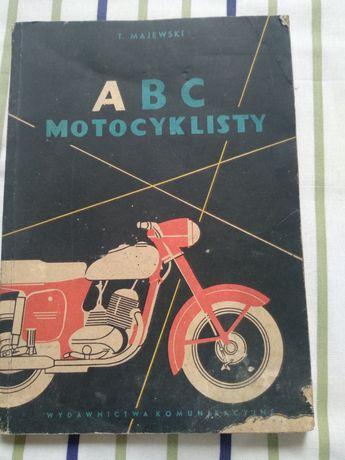 Książka ABC motocyklisty 1959 rok Tadeusz Majewski