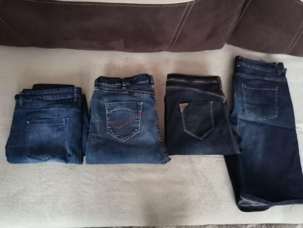 Jeansy spodnie jeansowe